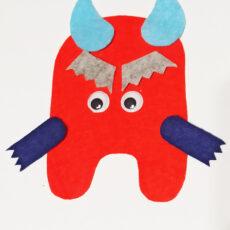make your monster idea regalo halloween